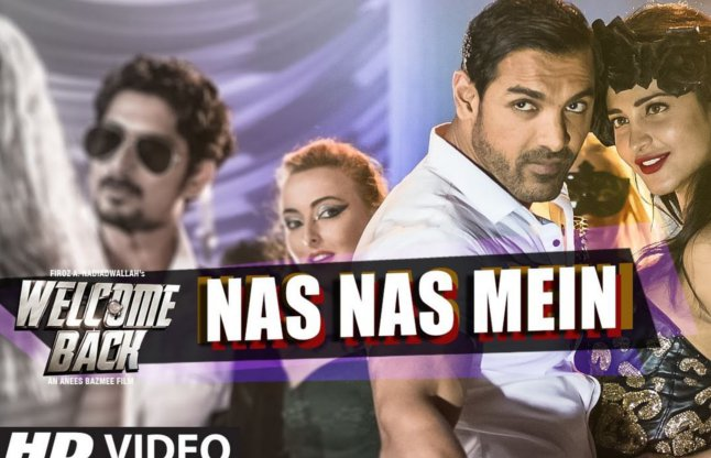 Welcome Back new song Nas Nas Mein video