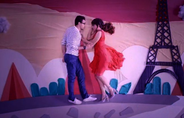 Lip To Lip video song Katti Batti Imran Khan & Kangana Ranaut