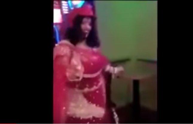 Radhe Maa Dances At Casino In London viral video